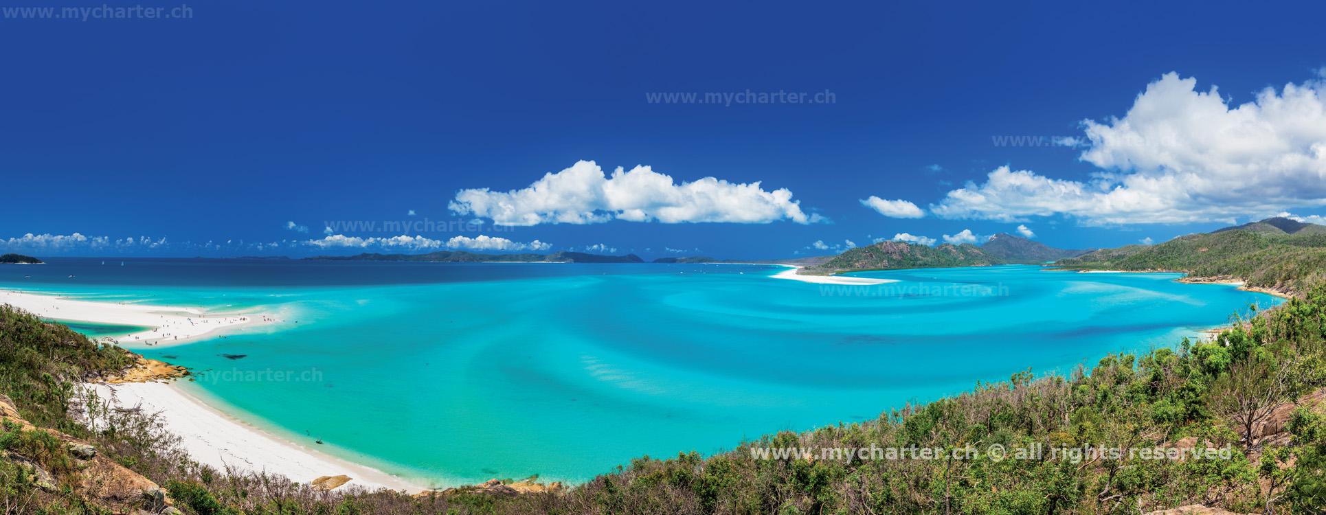 Yachtcharter Australien - Whiteheaven Beach