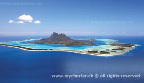 Crewed Charter Tahiti - Insel Bora Bora