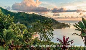 Yachtcharter Tahiti - Raiatea