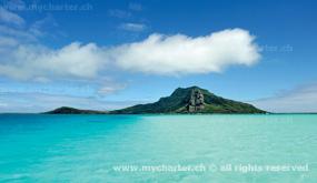 Yachtcharter Tahiti - Insel Maupiti