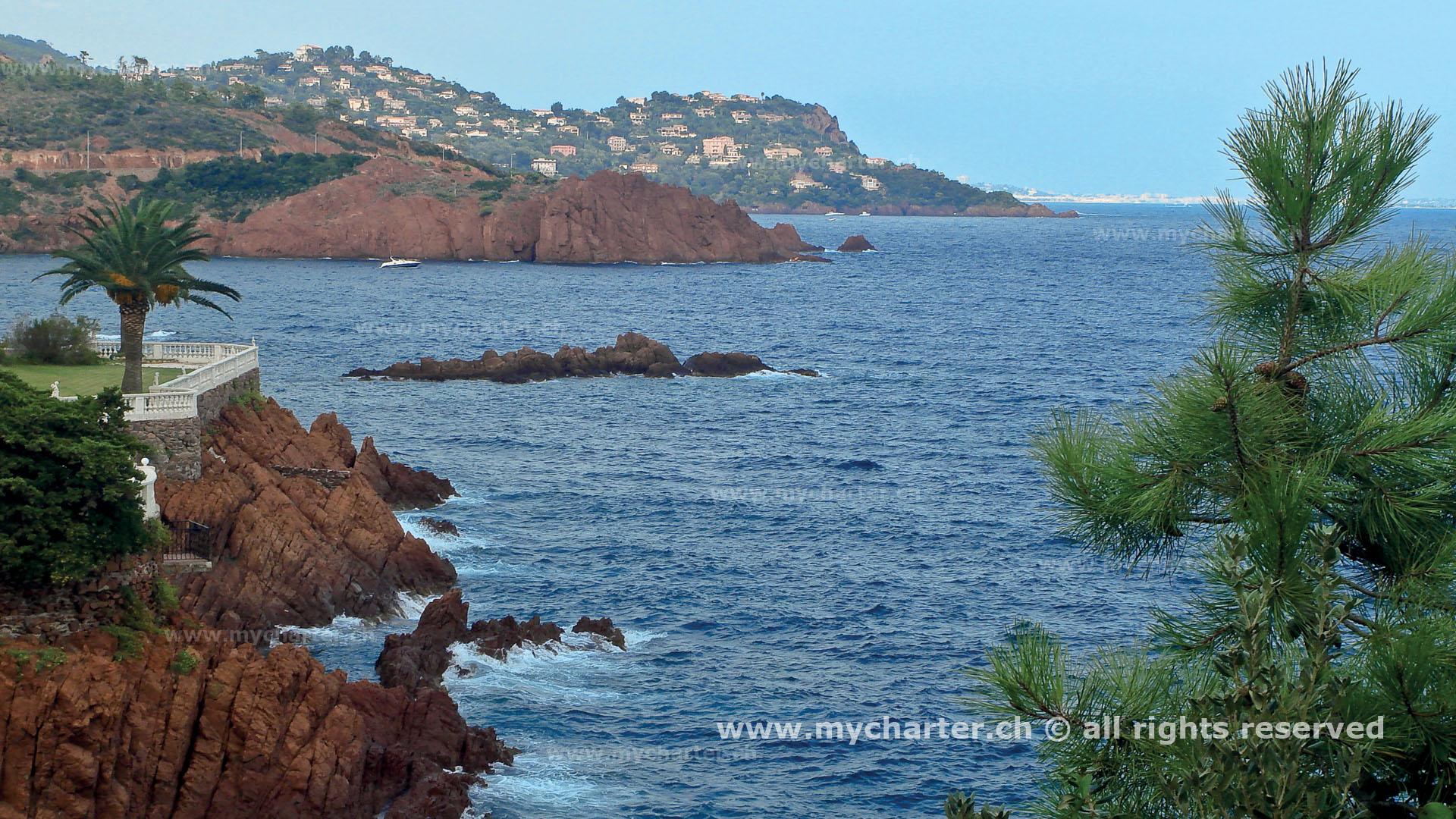 Côte d'Azur - Pointe de Trayas