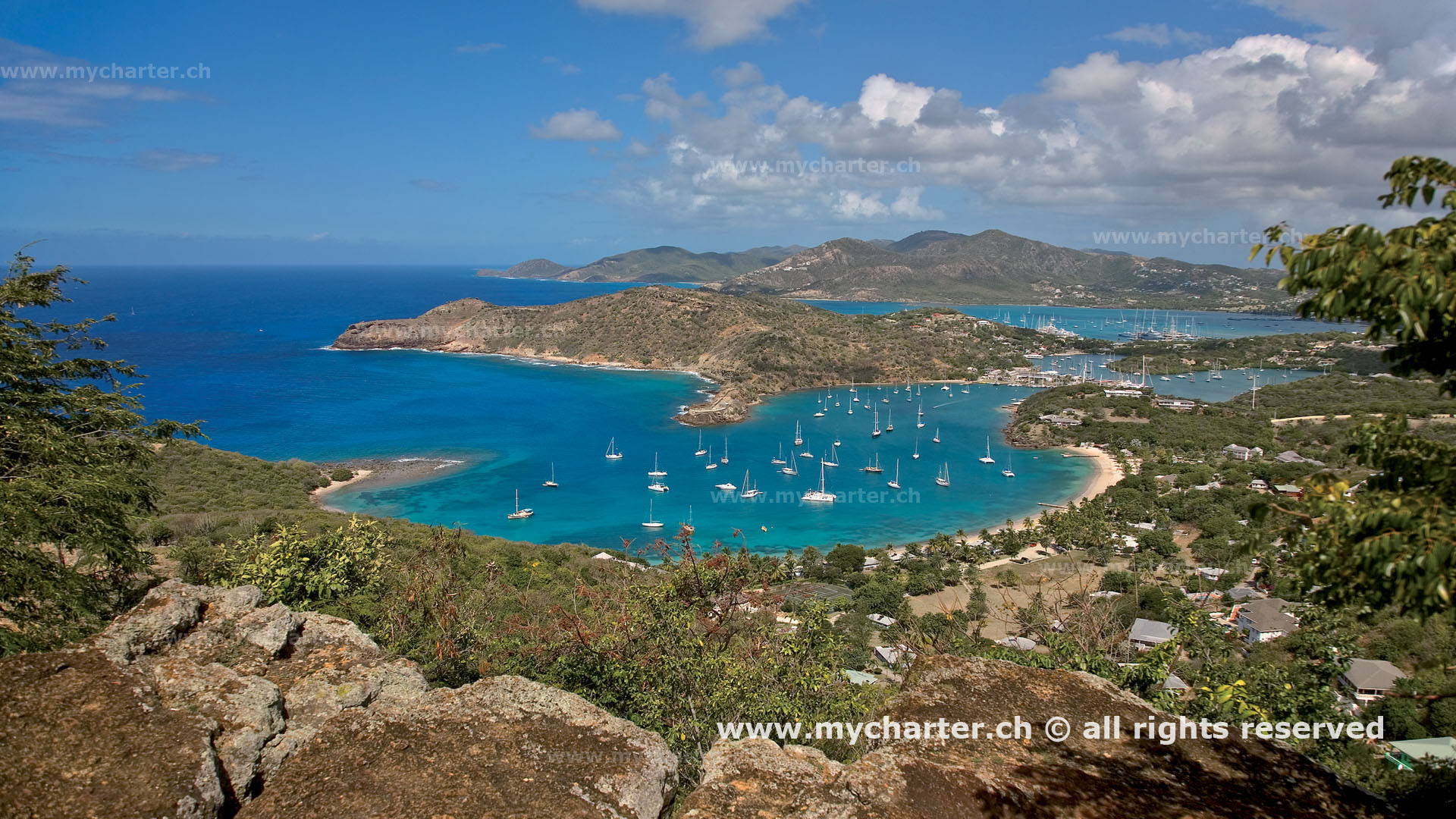 Antigua & Barbuda - English Harbour