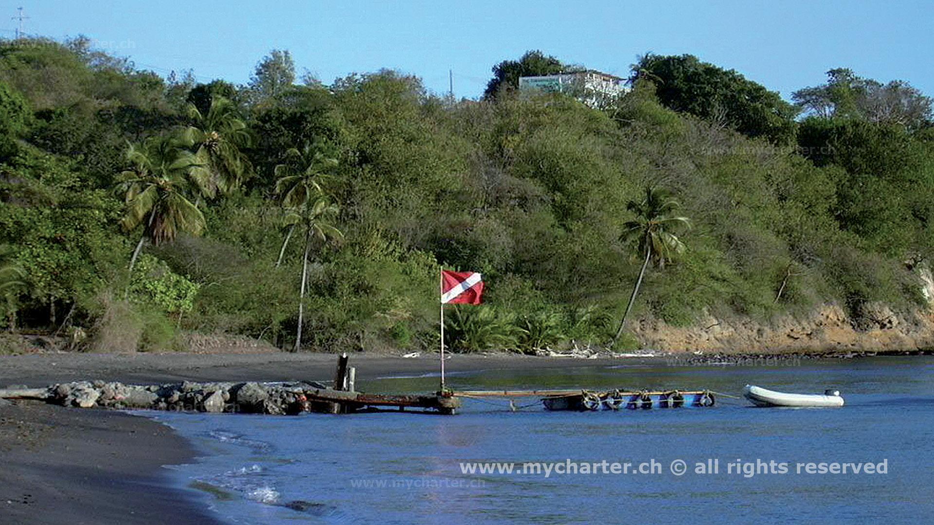 Dominica - Bucht auf Dominica