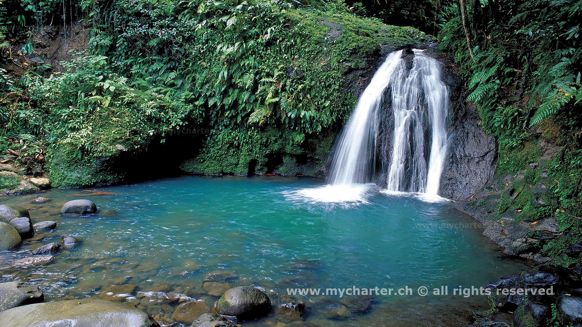 Guadeloupe - Casacdes aux écrevisses