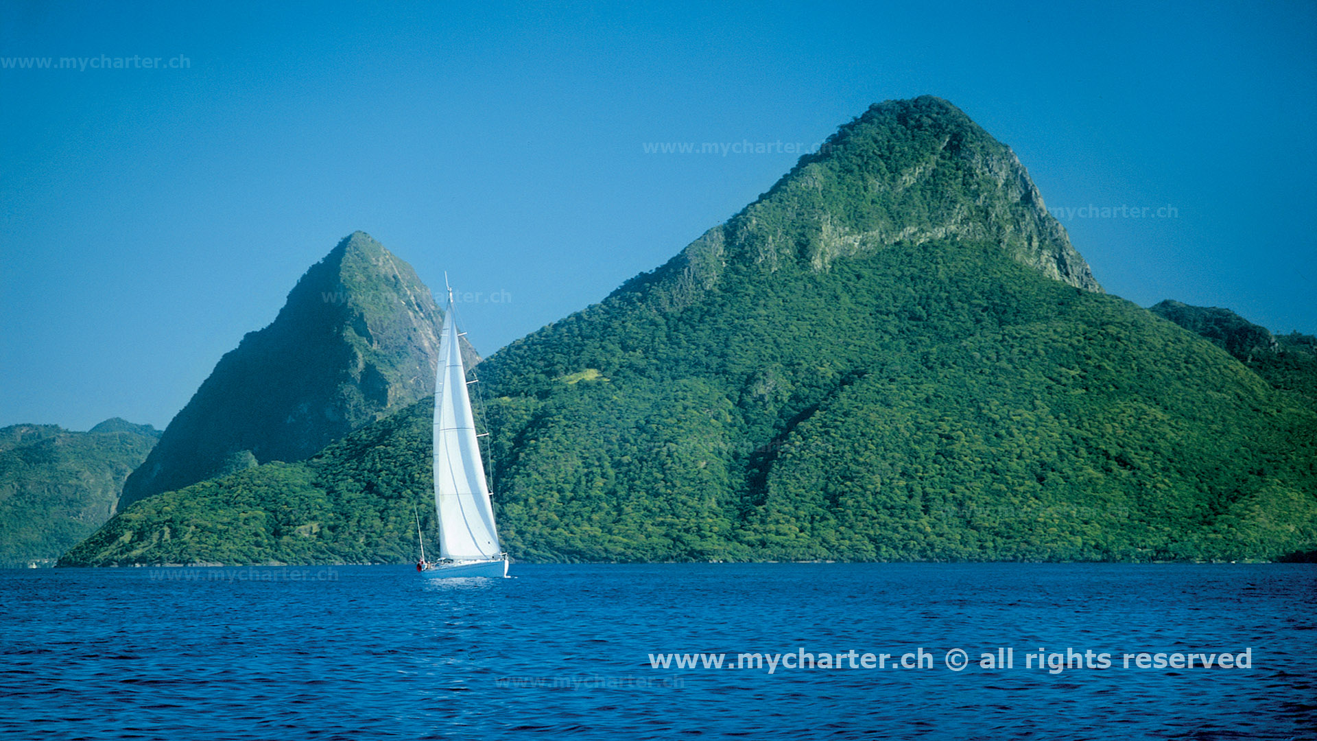 Yachtcharter ab Martinqiue - St Lucia