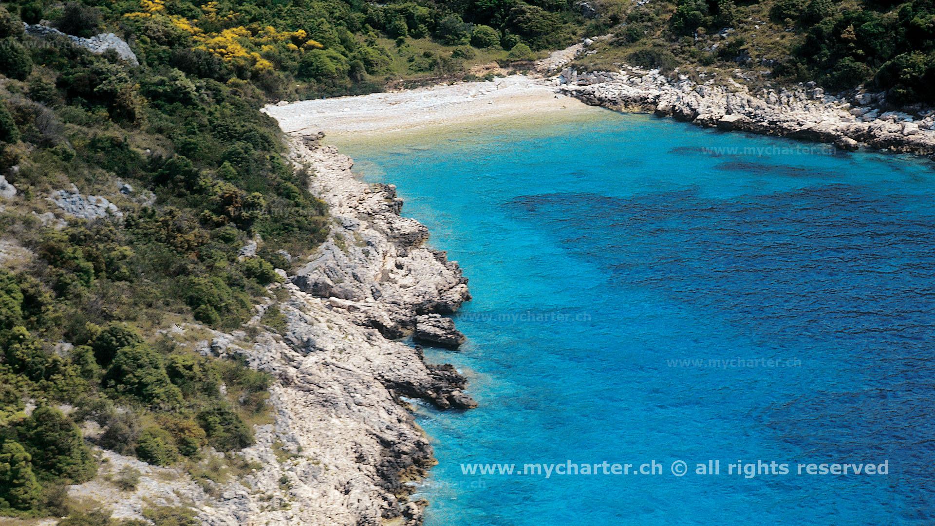 Kroatien - Bucht bei Primosten