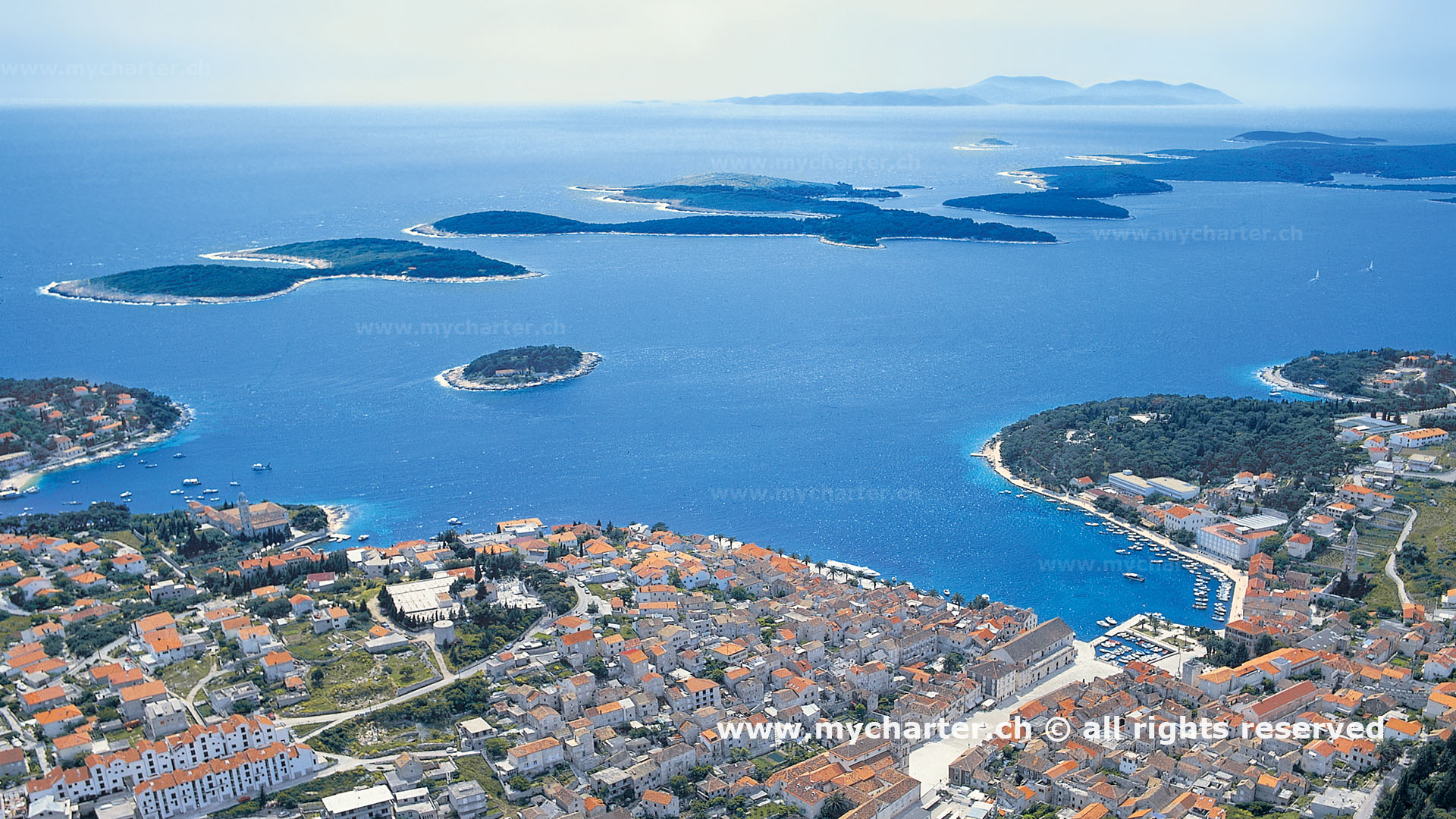 Kroatien - Bucht von Hvar