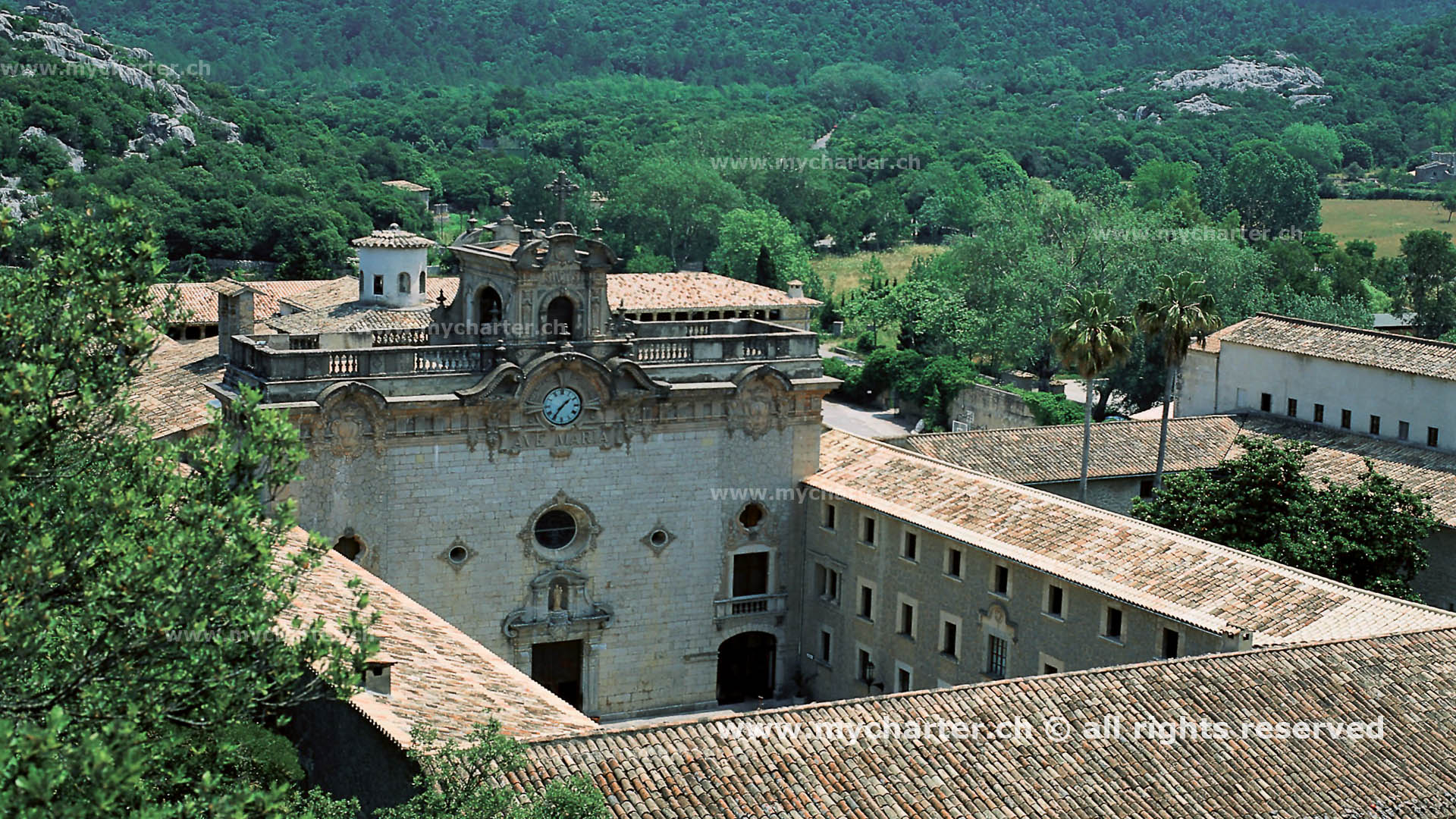 Mallorca - Monasterio Lluc y Sierra Tramuntana