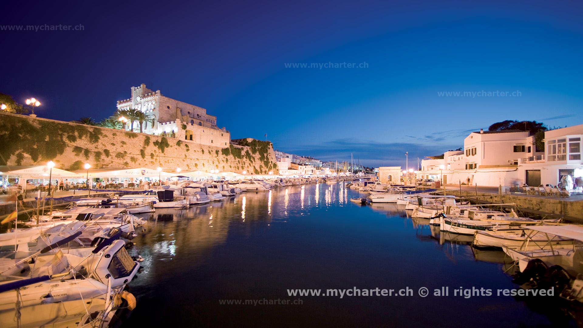 Mallorca - Puerto de Portivo Menorca