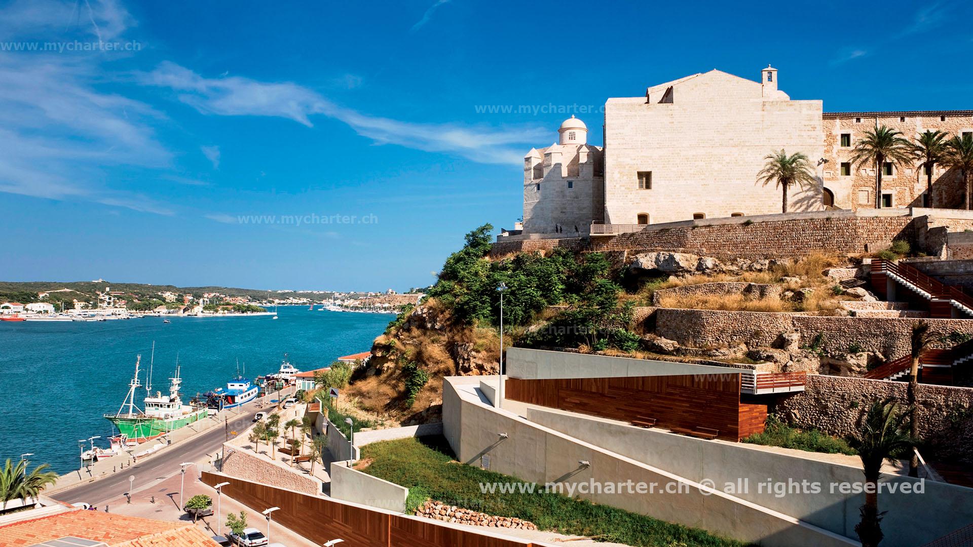 Mallorca - Puerto en Mahon