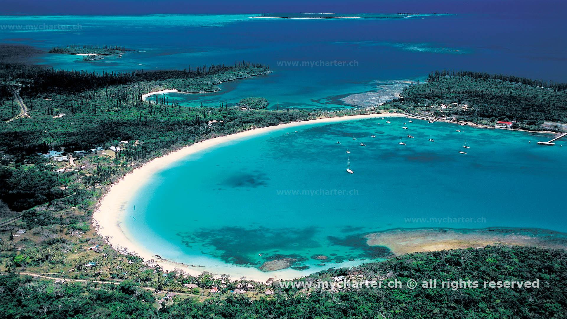 Segeln Neukaledonien - Baie de Kuto
