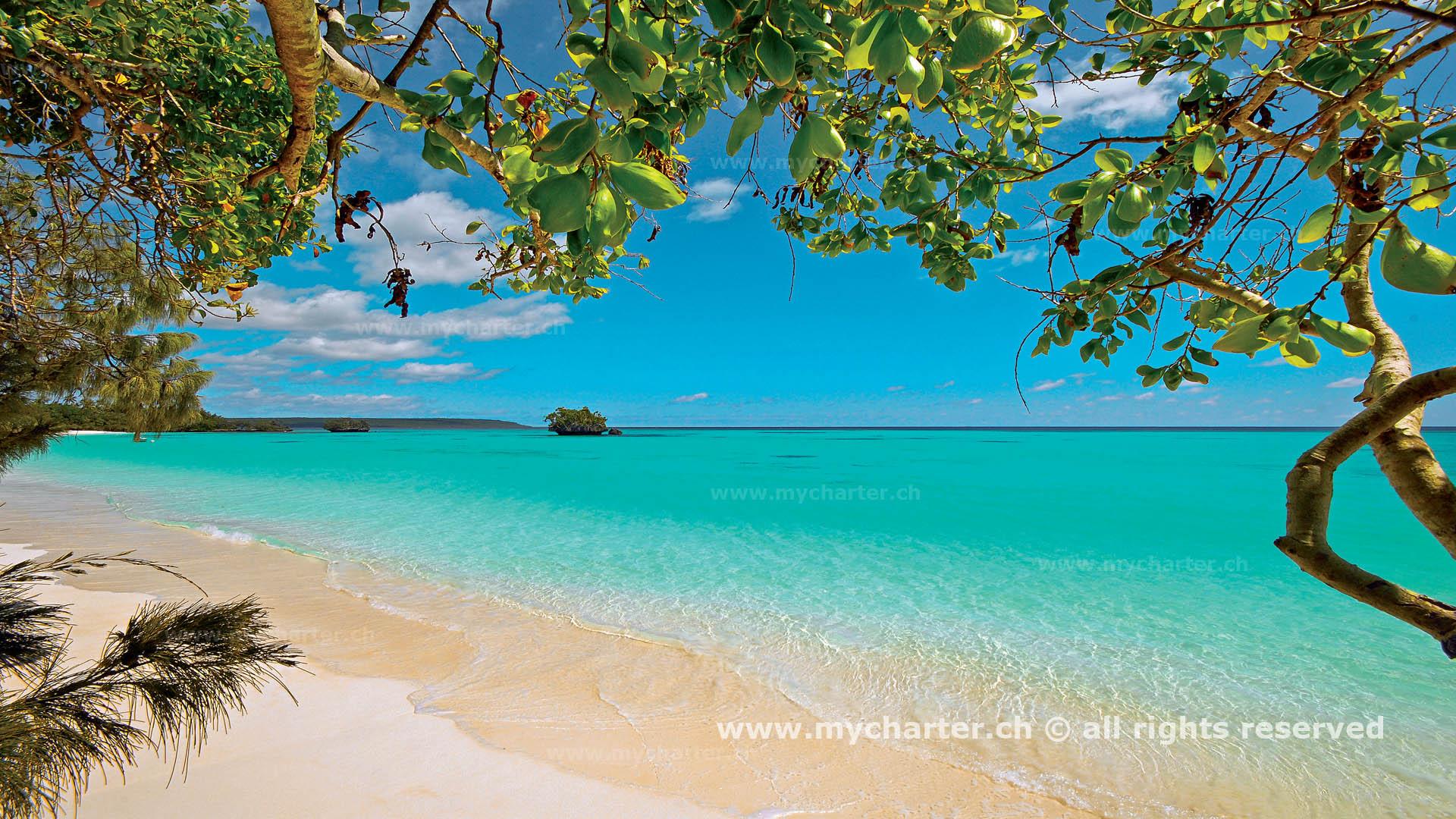 crewed charter Neukaledonien - Insel Lifou