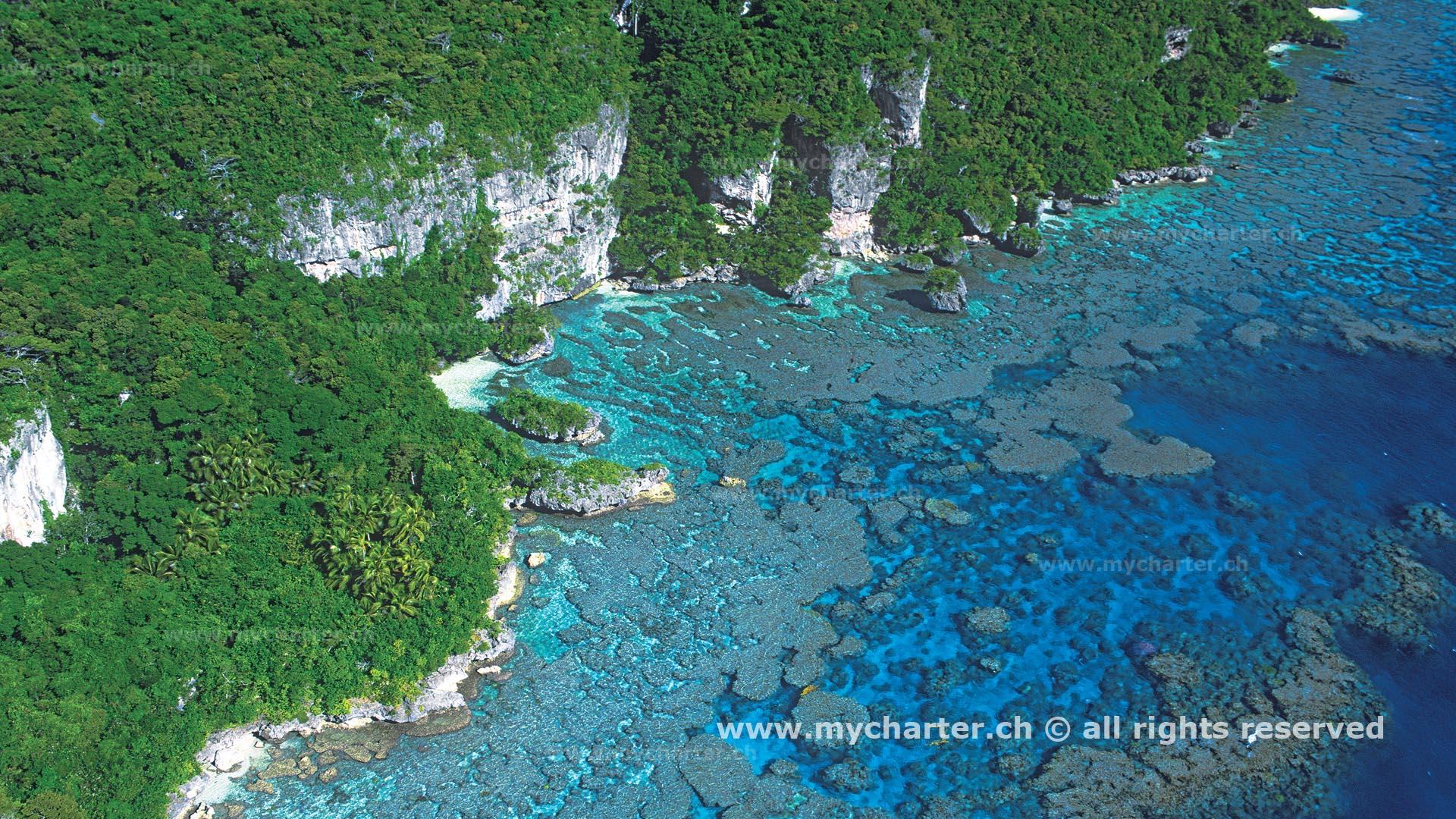 Segeln Neukaledonien - Insel Maré