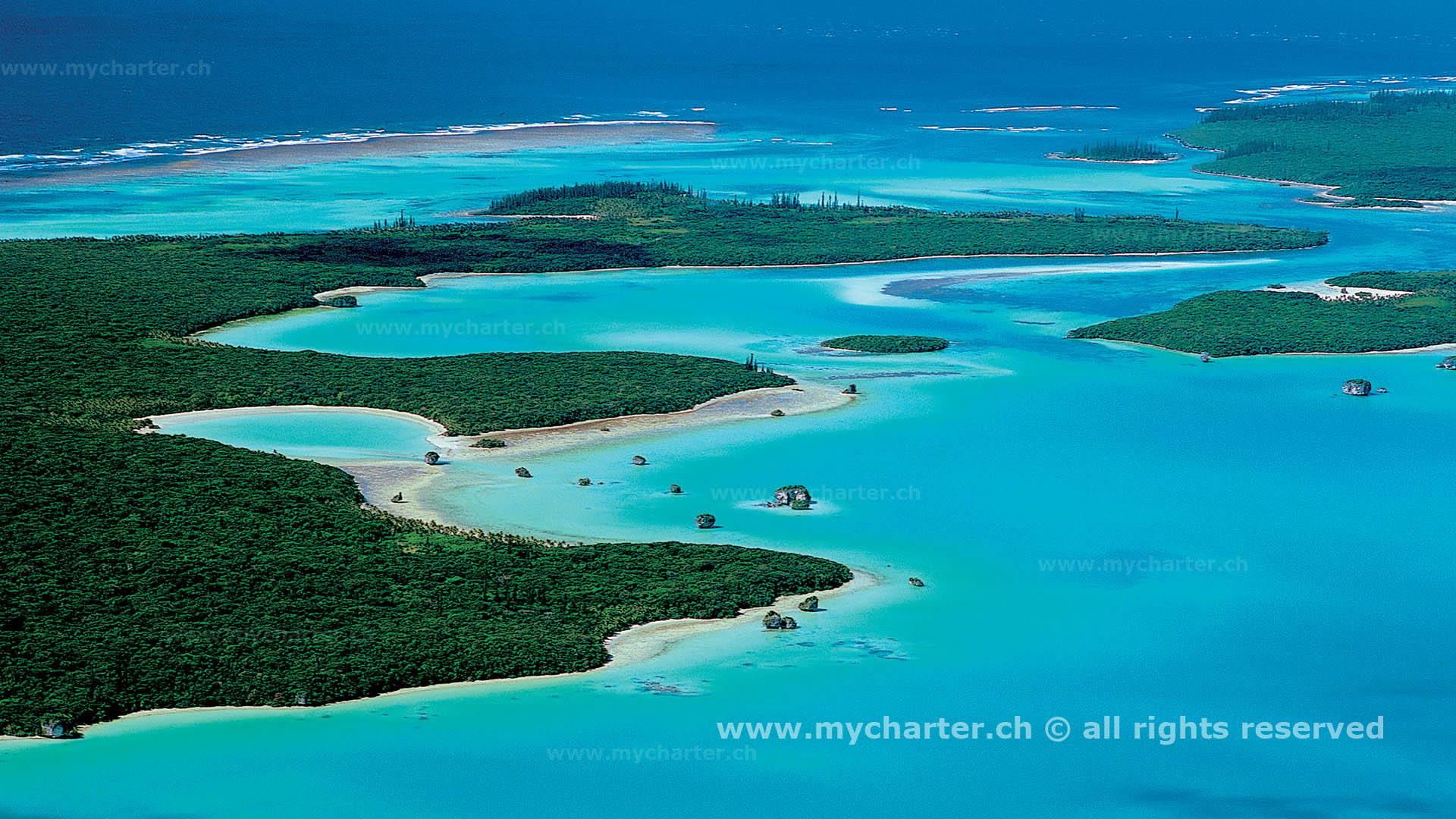 Segeln Neukaledonien - Iles des Pins