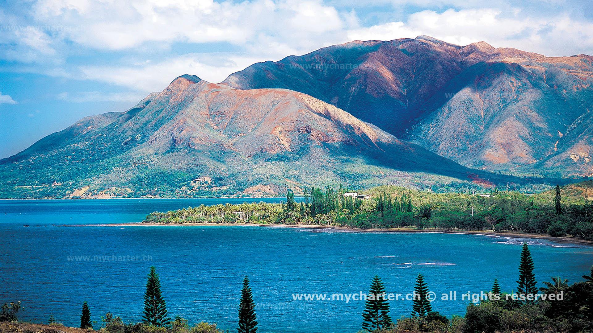 Yachtcharter Neukaledonien - Mont d'Oré