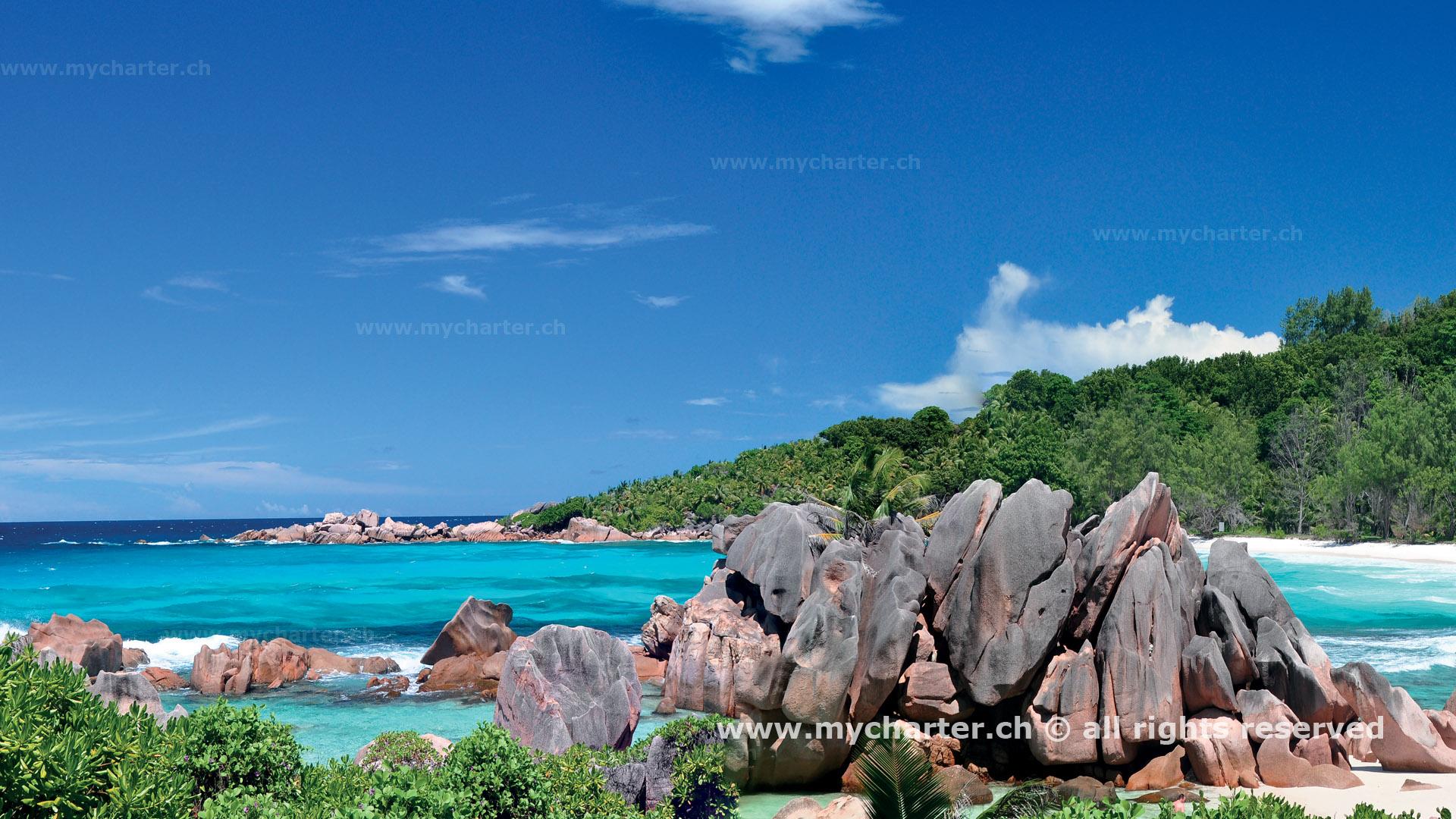 Seychellen - Anse Cocos La Digue