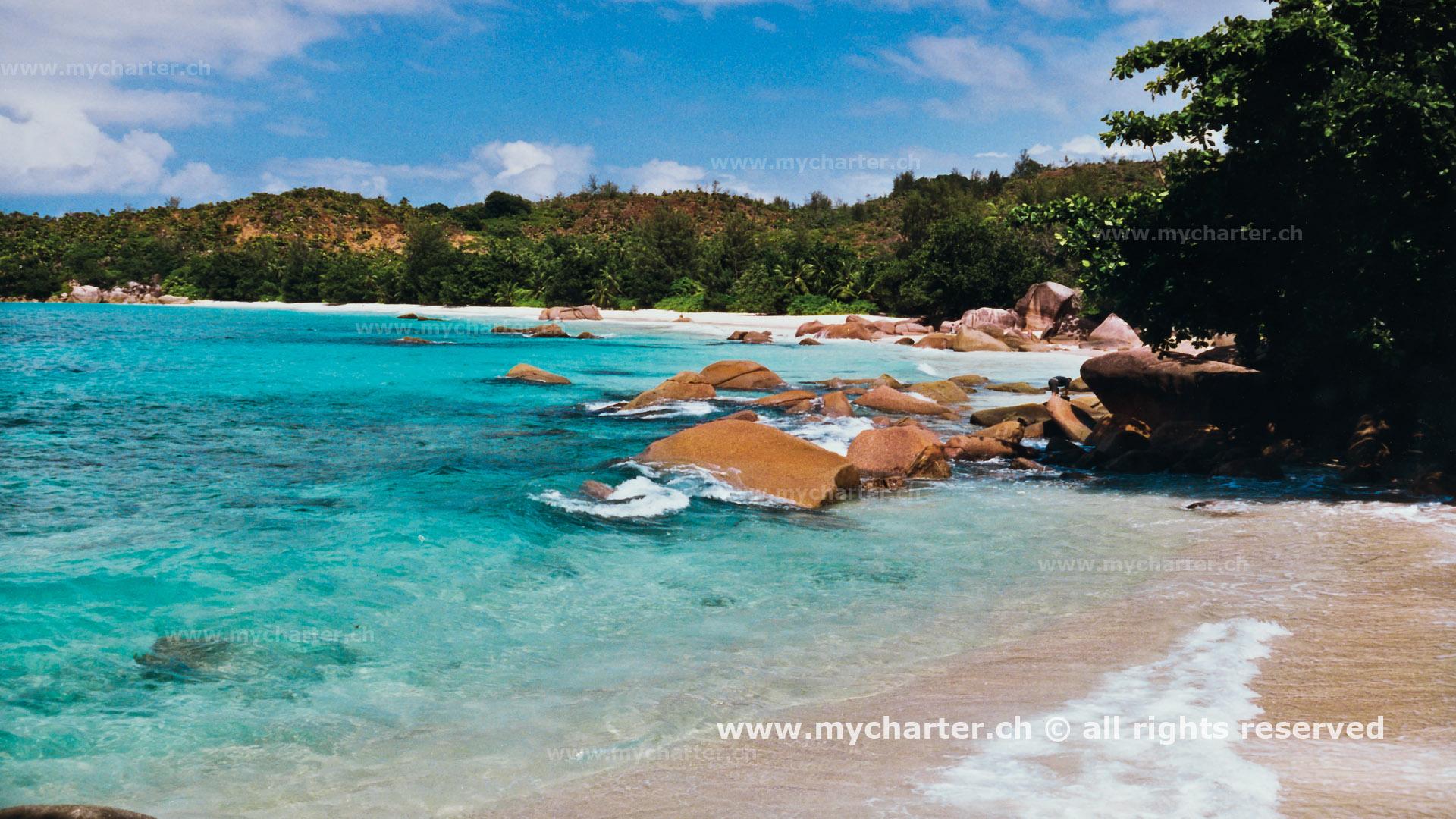 Seychellen - Anse Lazio Praslin