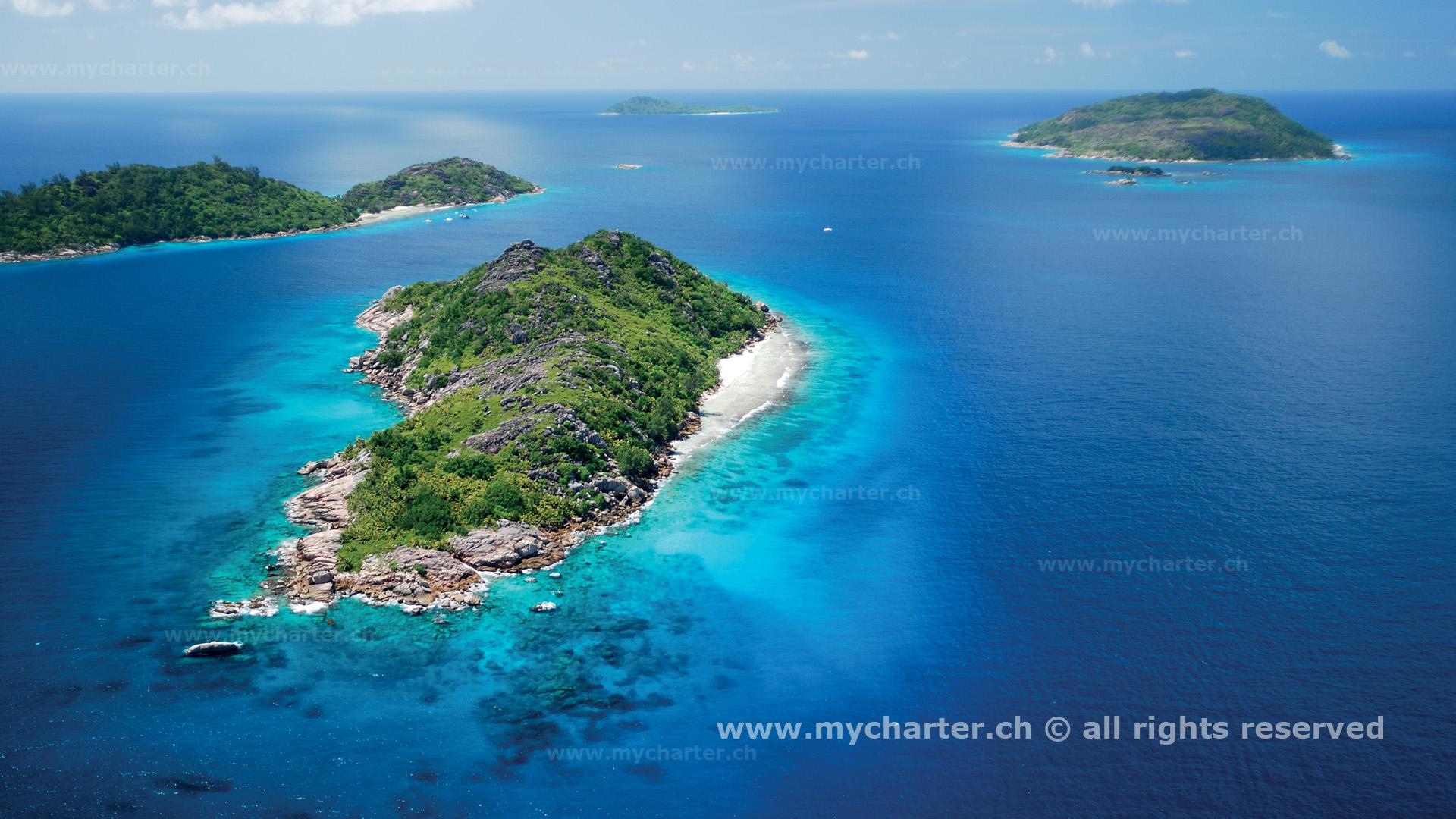 Seychellen - Félicité Les Soeurs