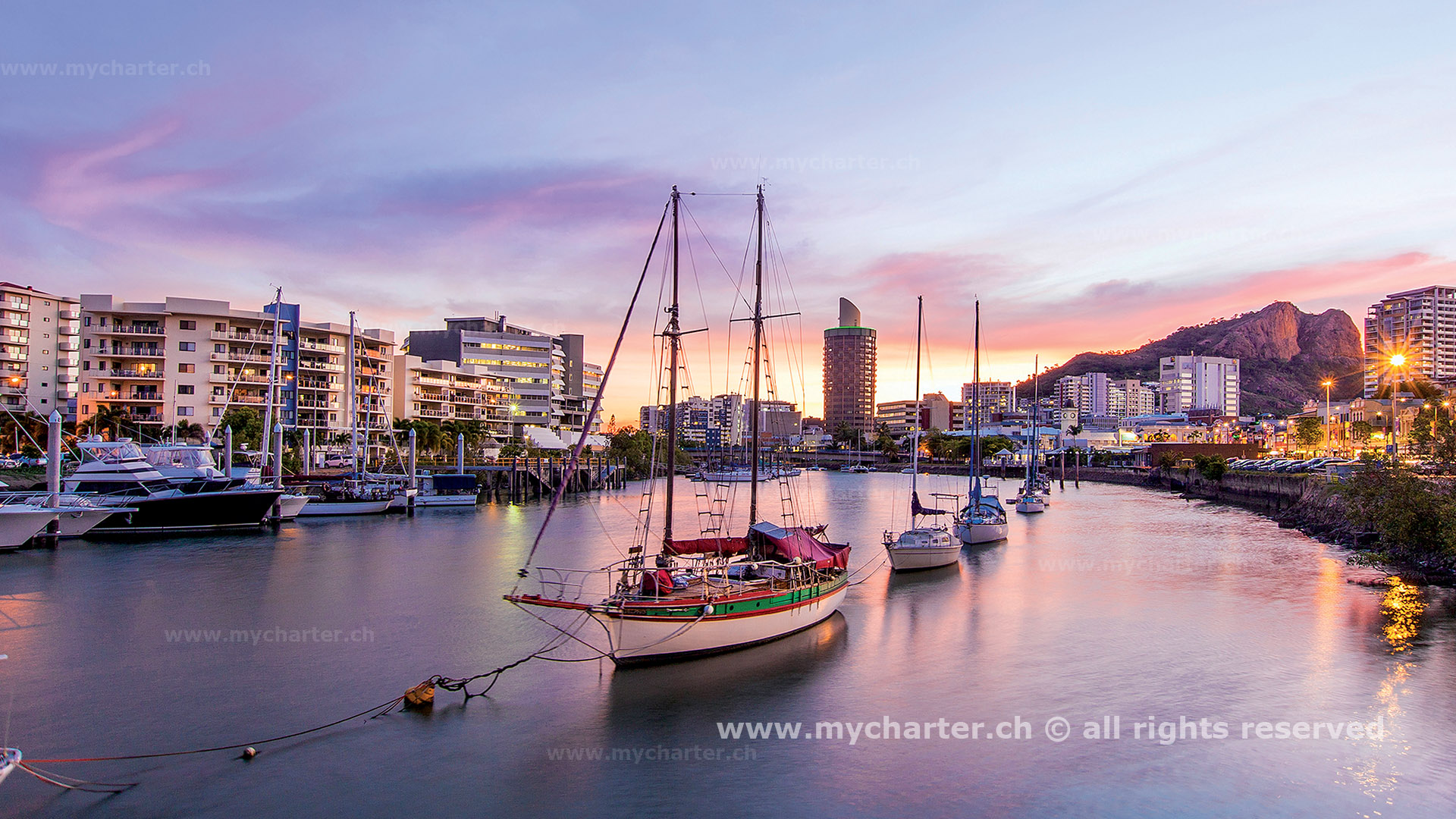 Yachtcharter Südesee - Australien - Townsville
