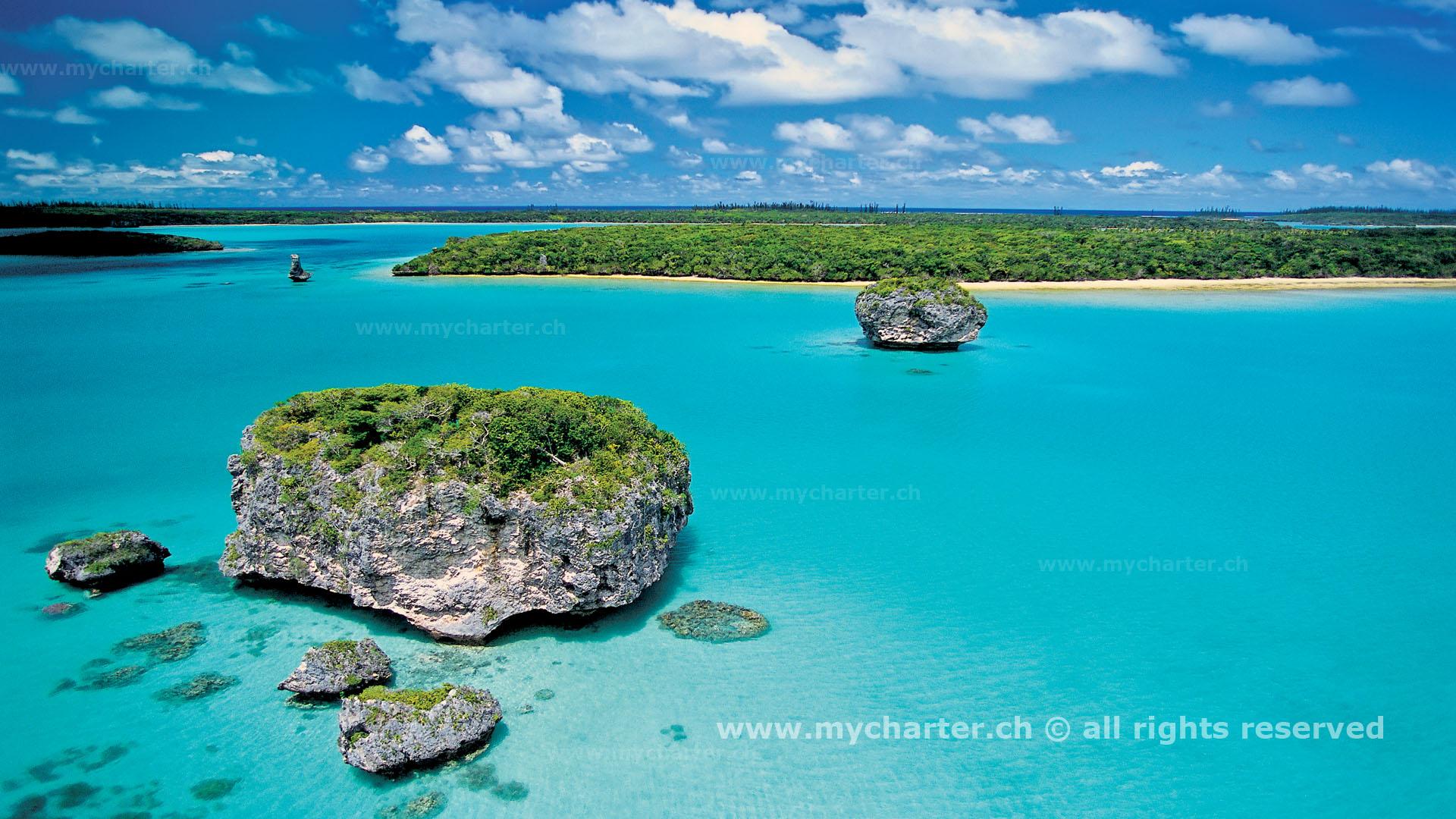 Yachtcharter Südesee - Neukaledonien - Baie d'Upi