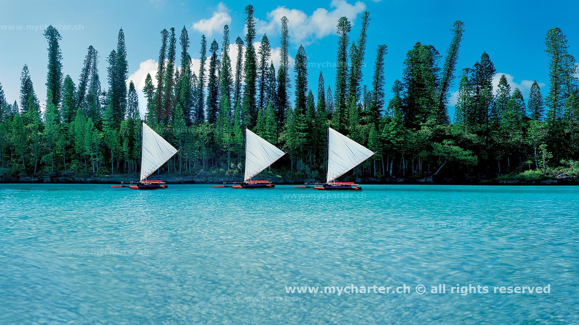 Yachtcharter Südesee - Neukaledonien - Ile des Pins