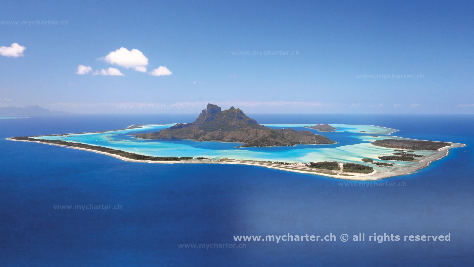 Yachtcharter Südesee - Tahiti - Bora Bora