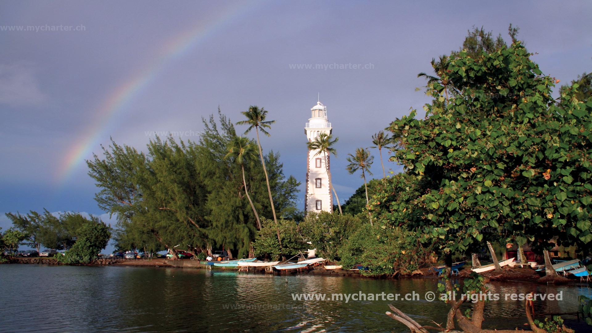Yachtcharter Südesee - Tahiti - Papeete