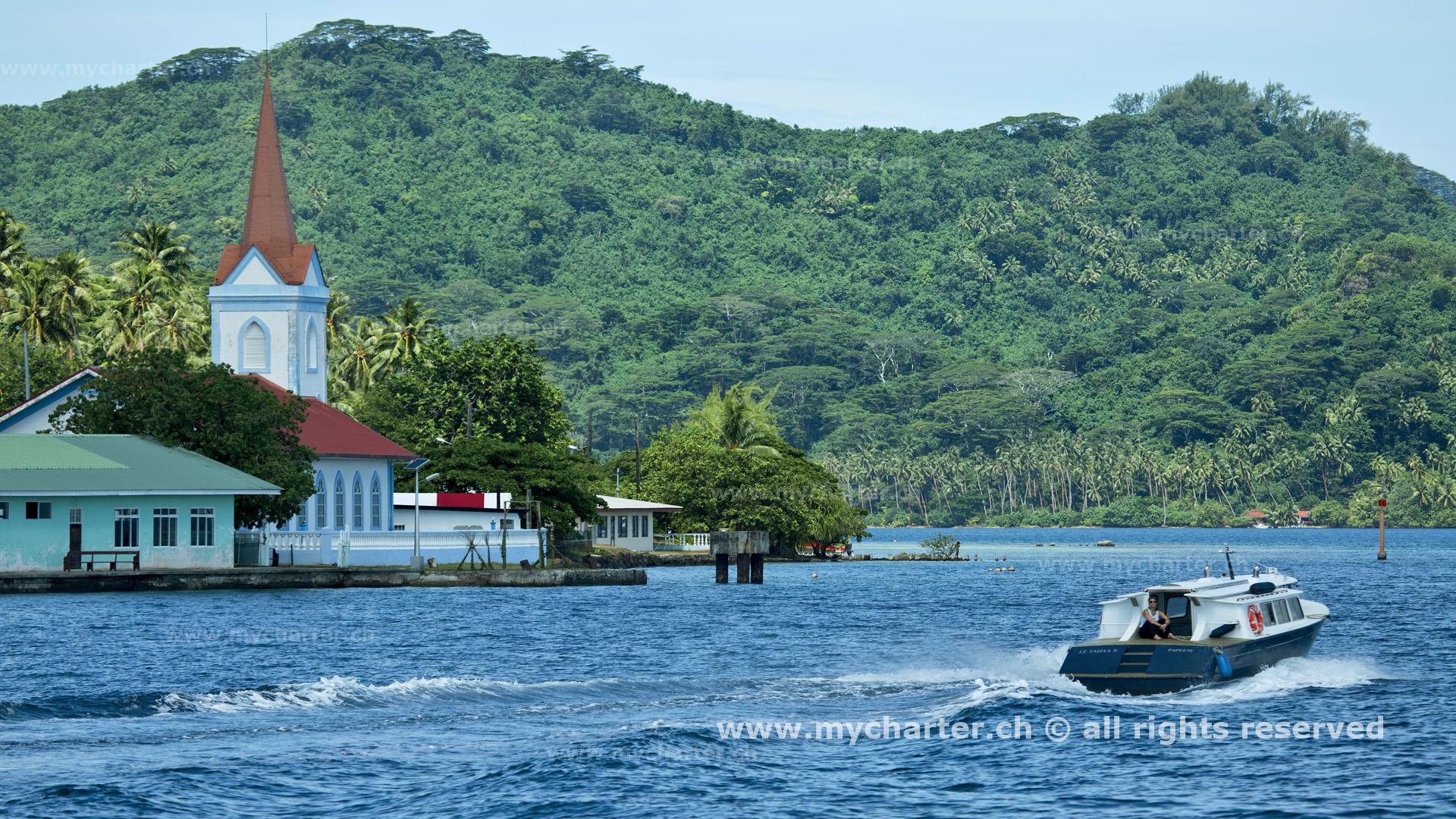 Yachtcharter Südesee - Tahiti - Tahaa