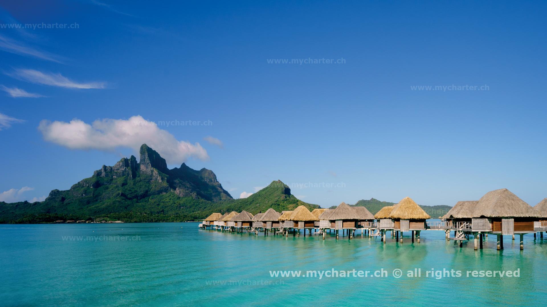 Segeln Tahiti Insel Bora Bora