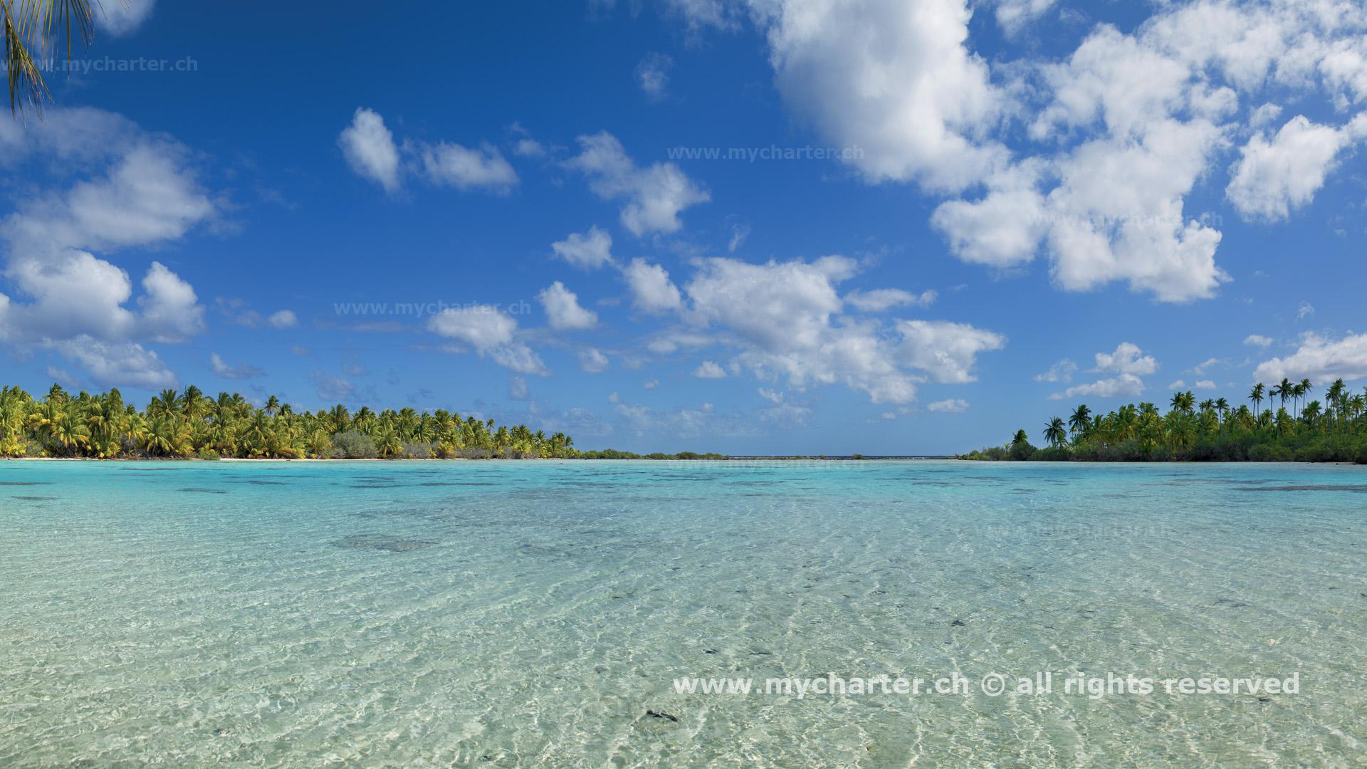 Toern Tahiti Insel Fakarawa