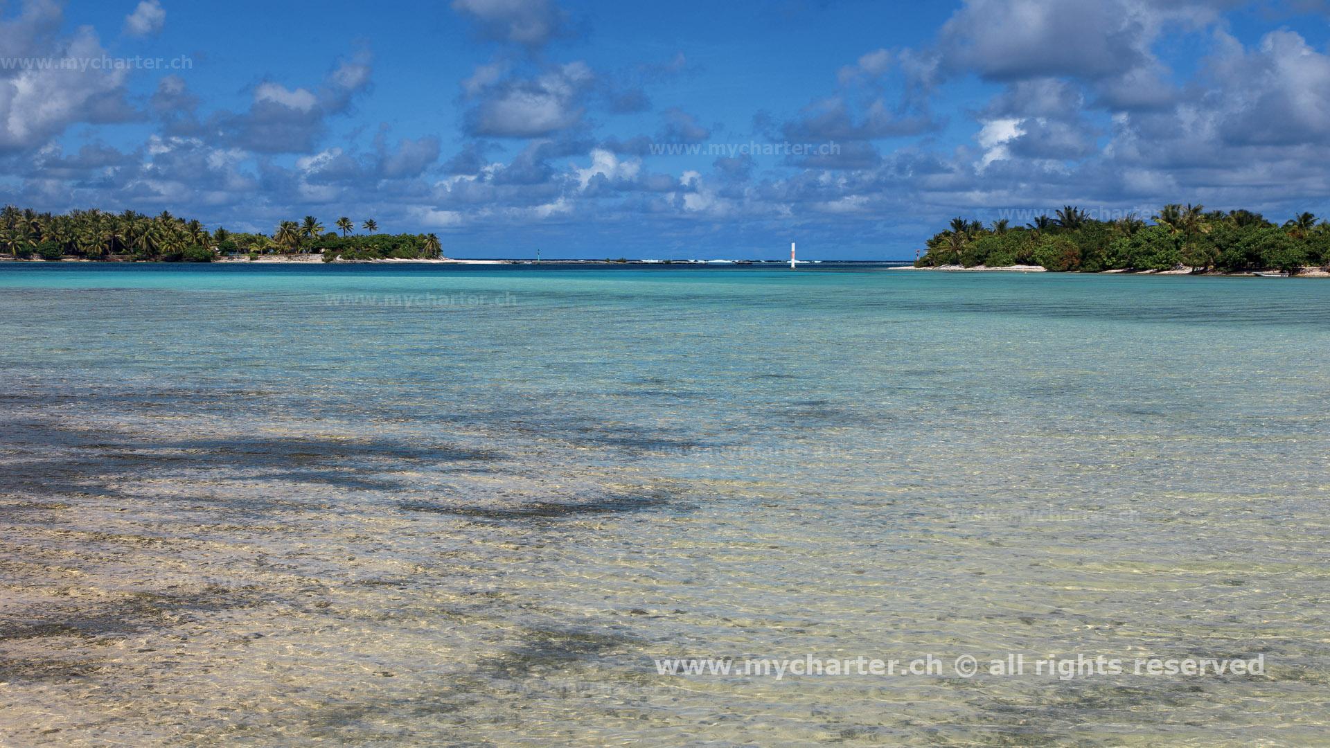crewed charter Tahiti Insel Maupiti Lagoon