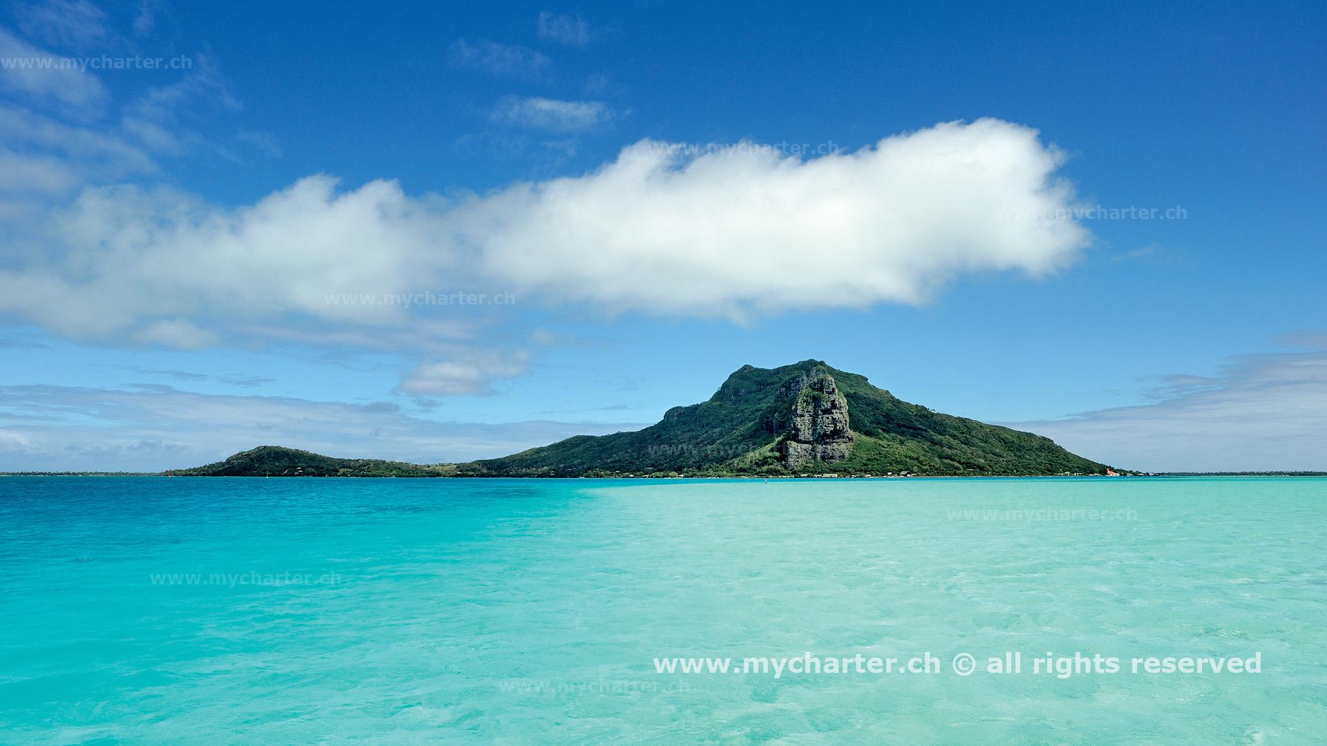 Segeln Tahiti Insel Maupiti