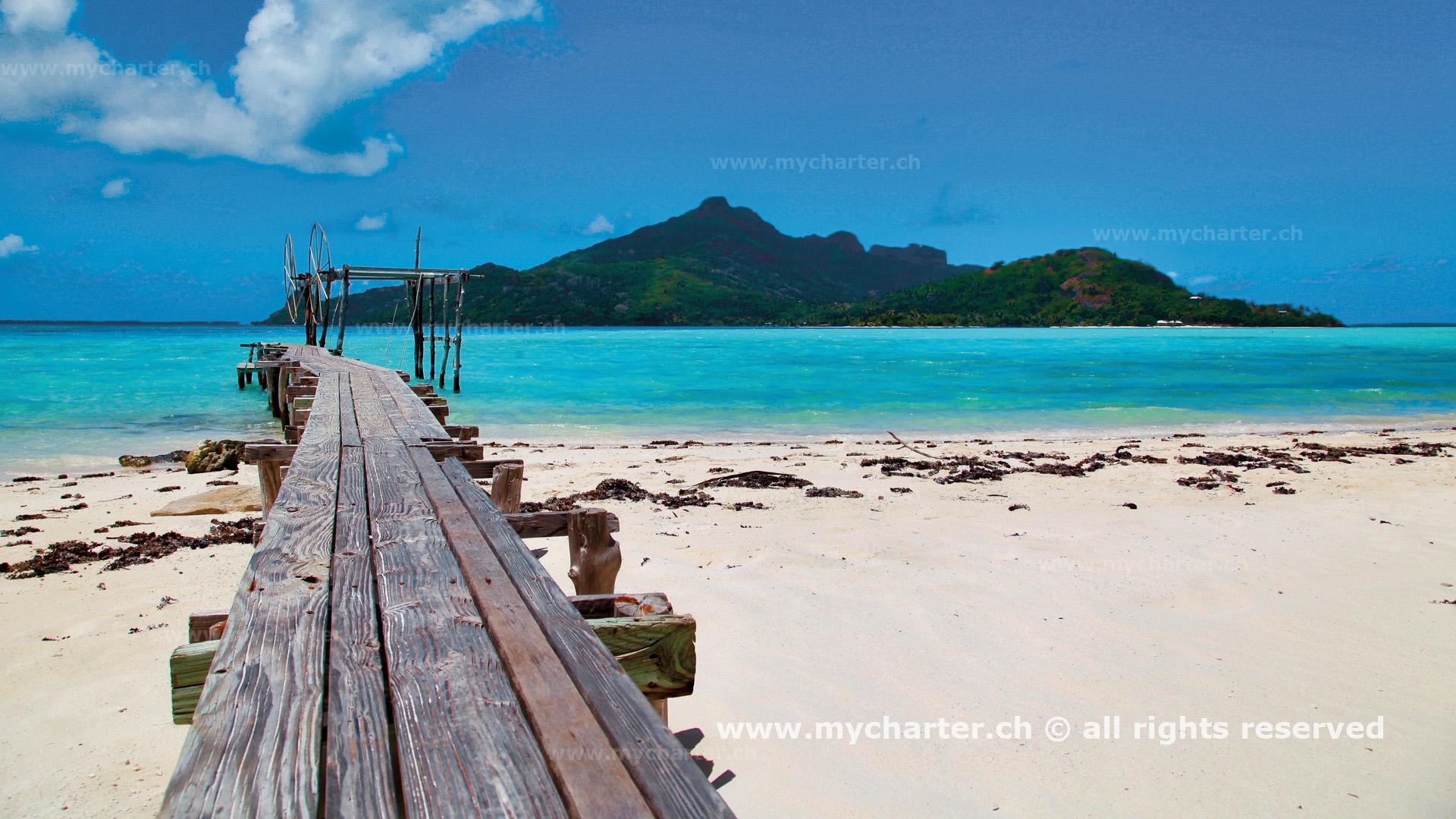 Yachtcharter Tahiti Insel Maupiti