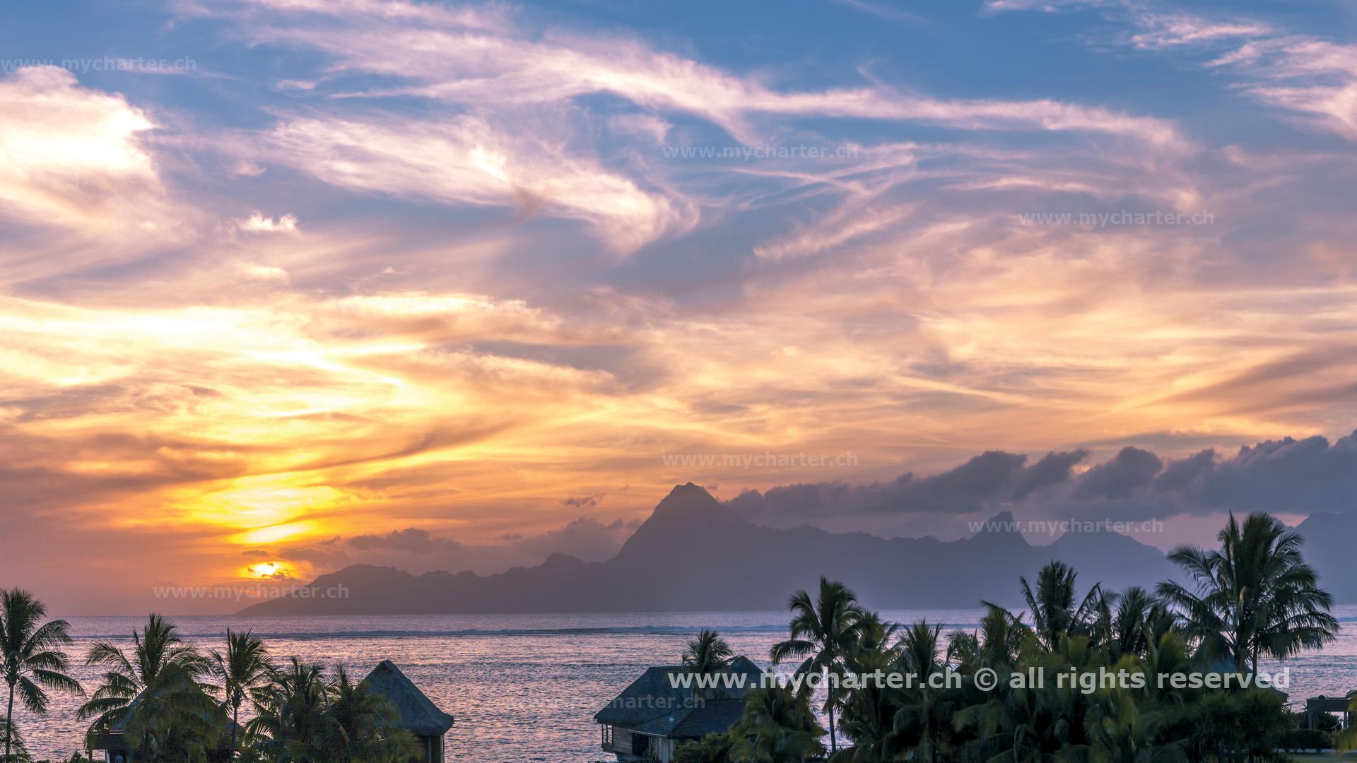 Toern Tahiti Insel Moorea