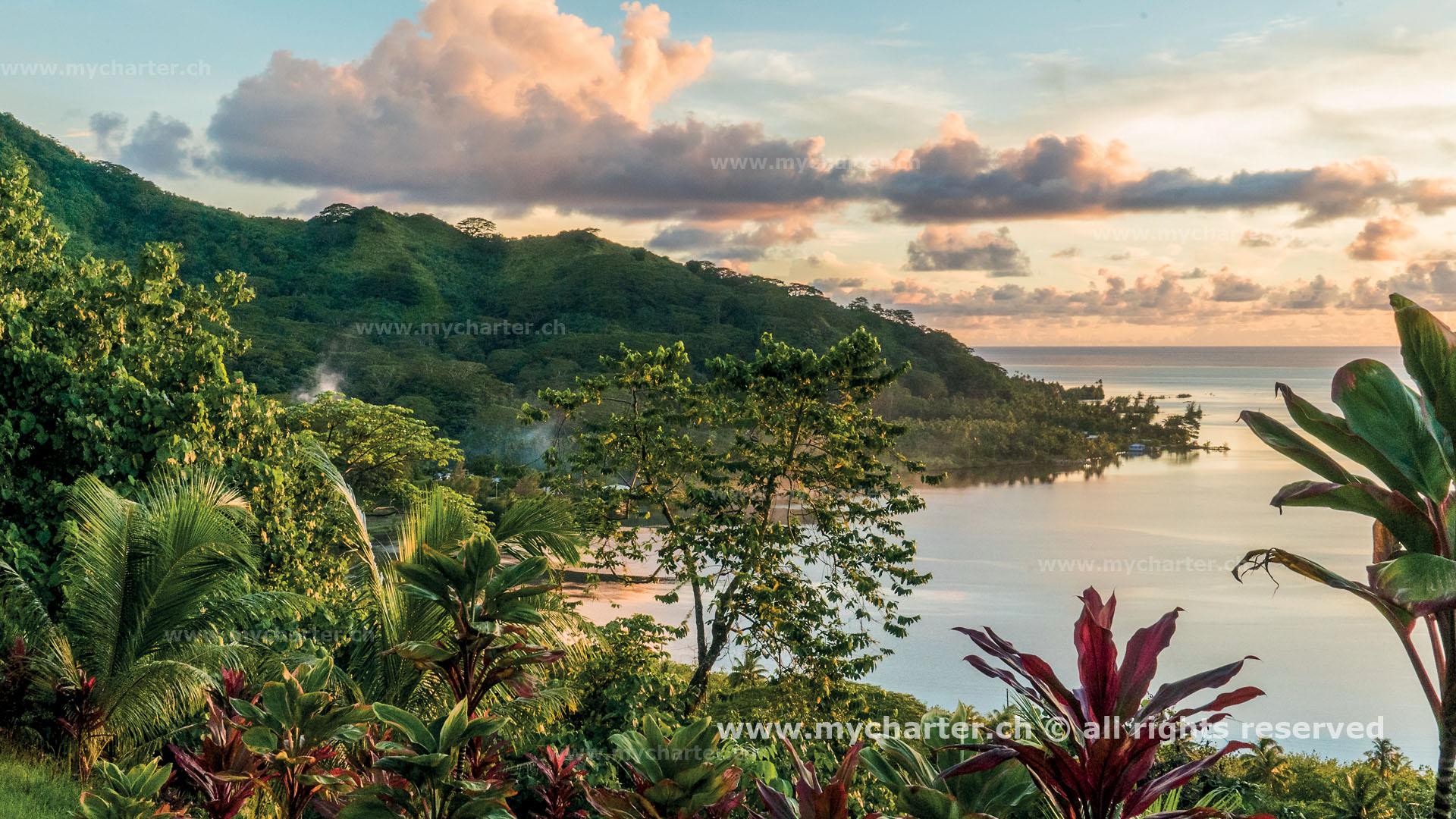 Toern Tahiti Insel Raiatea
