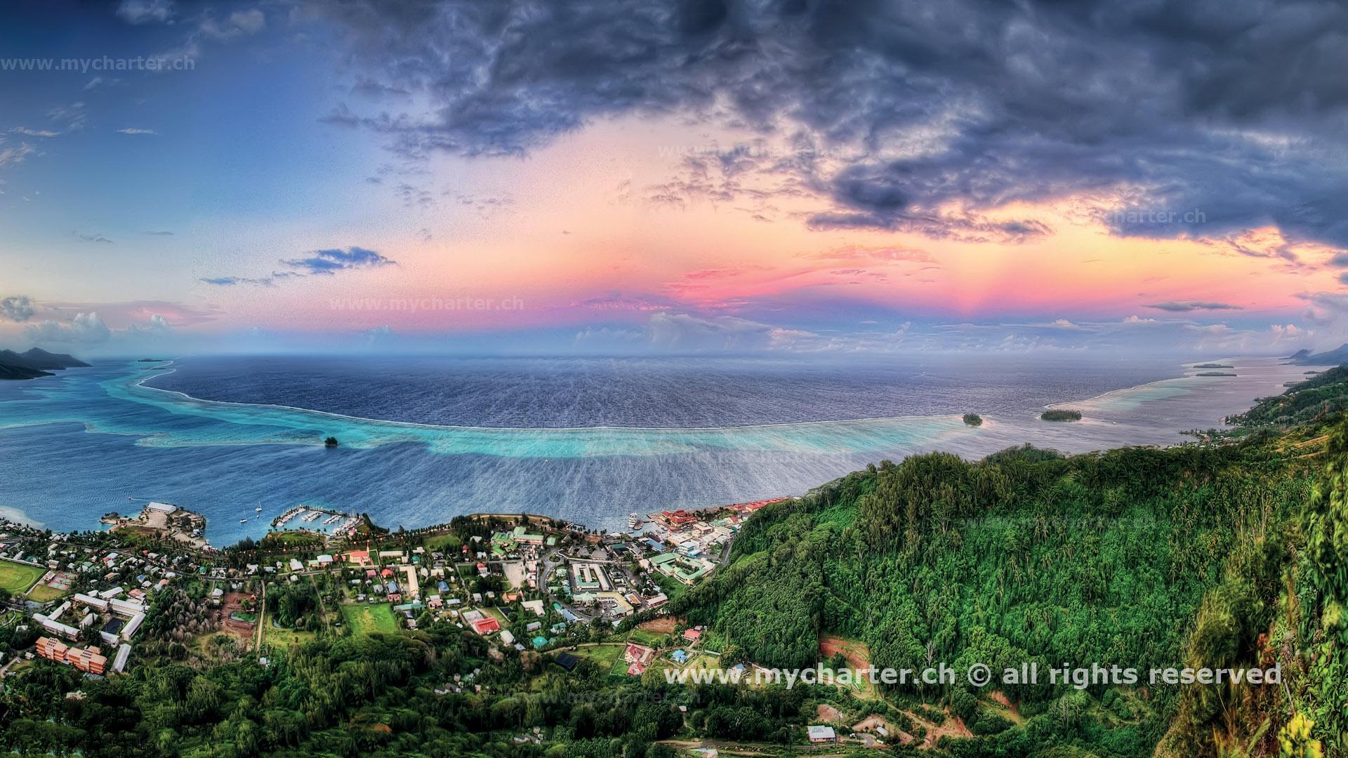 Segeln Tahiti Insel Raiatea