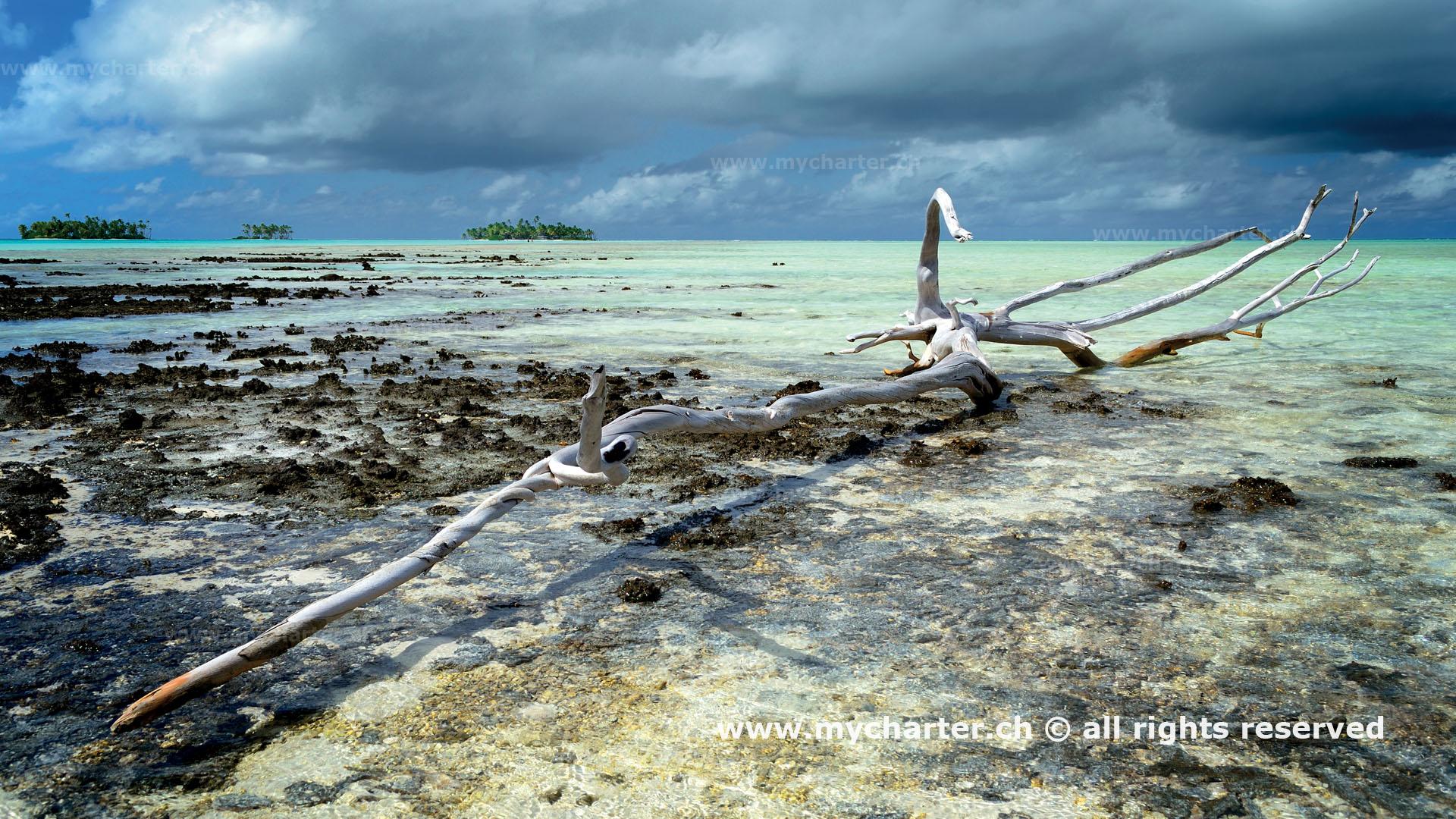 Yachtcharter Tahiti Rangiroa-Atoll