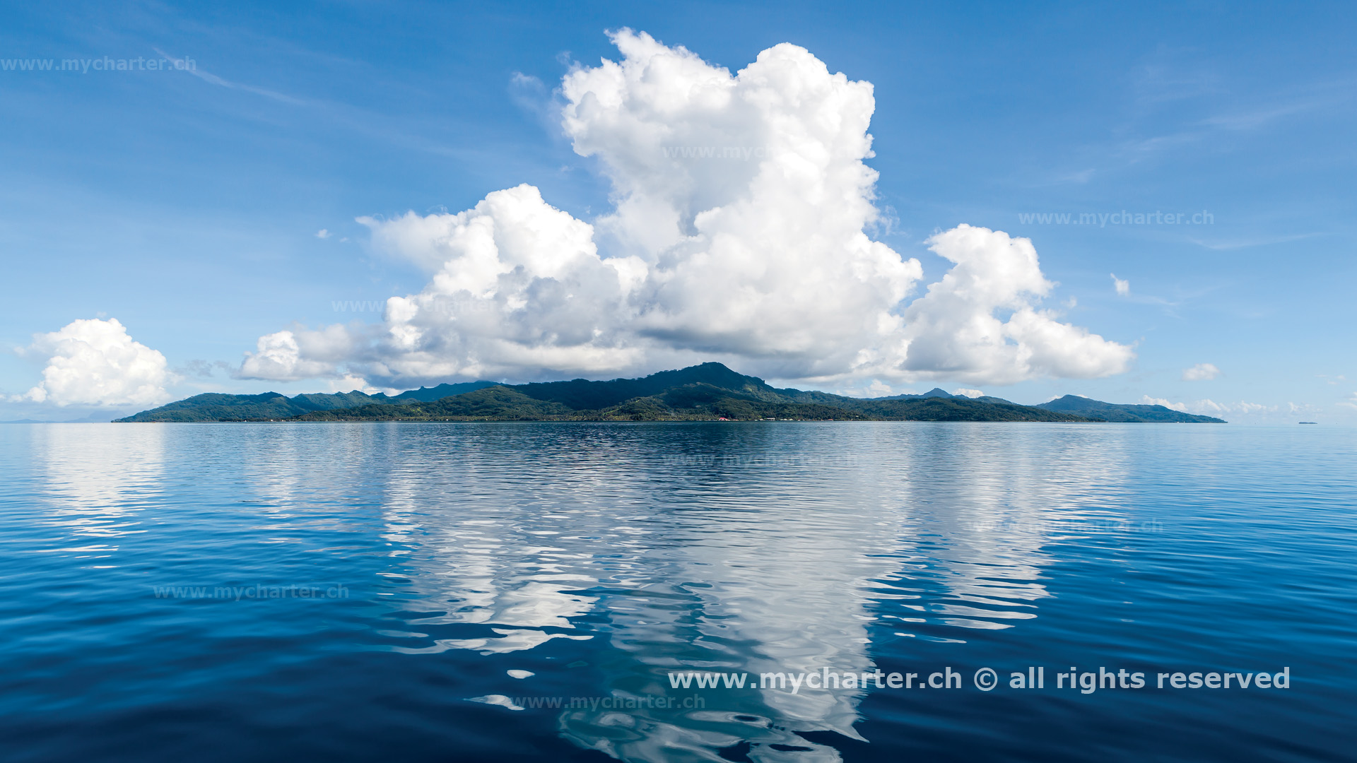 Segeln Tahiti Insel Tahaa
