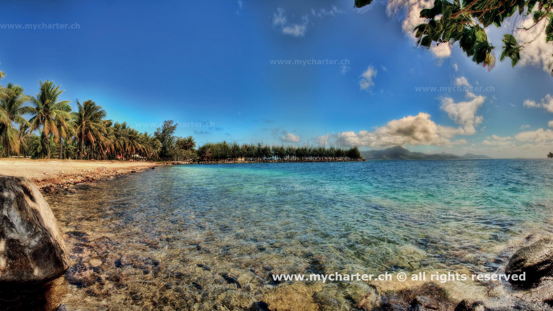 Yachtcharter Tahiti Insel Tahiti