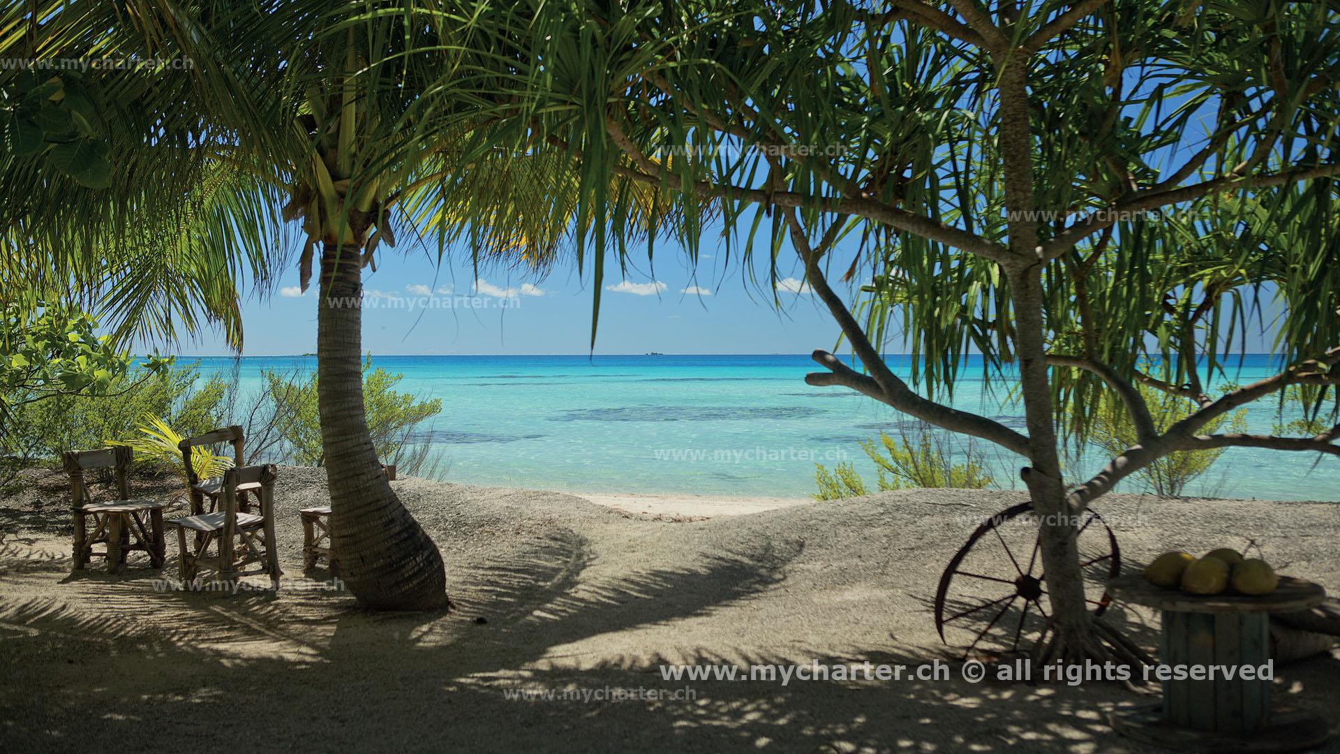 Toern Tahiti Insel Tikehau